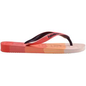 havaianas Top Logomania Multicolor Flips gradient red crush